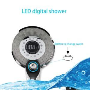 Cabezal de ducha Digital LED