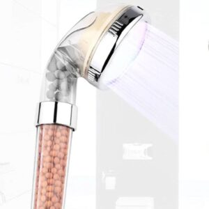 cabezal de ducha con filtro iónico