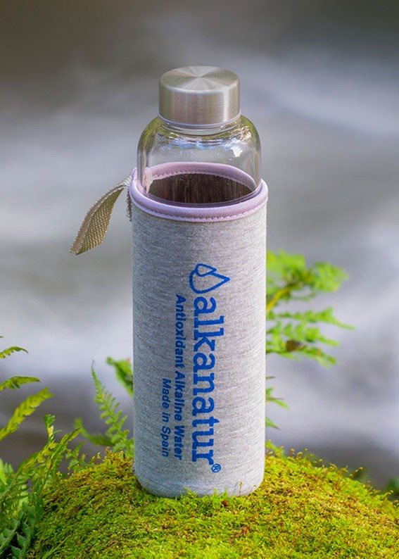 Botella de cristal de borosilicato - Aquapurelife