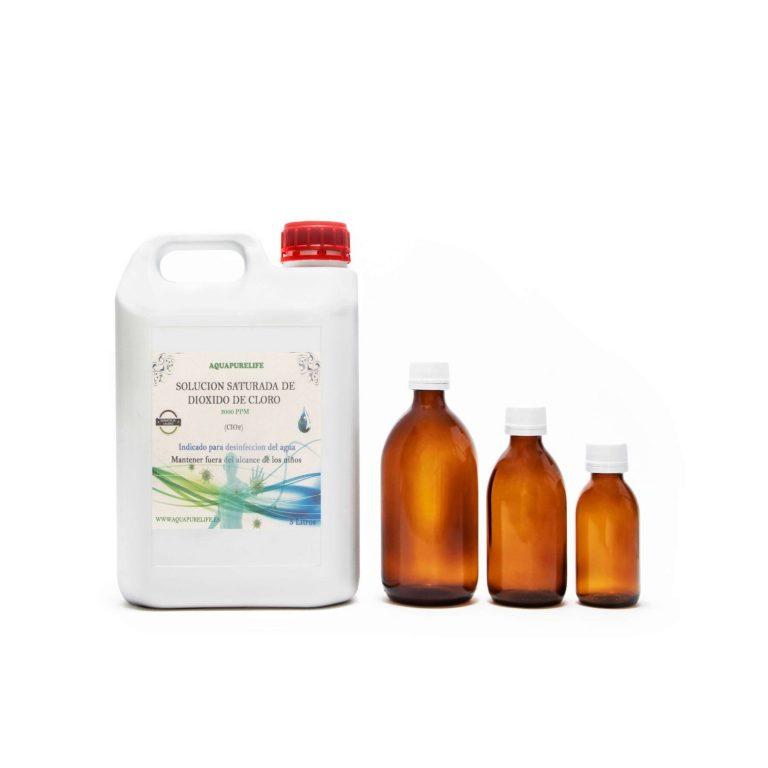 Dioxido de cloro garrafa de 5 litros