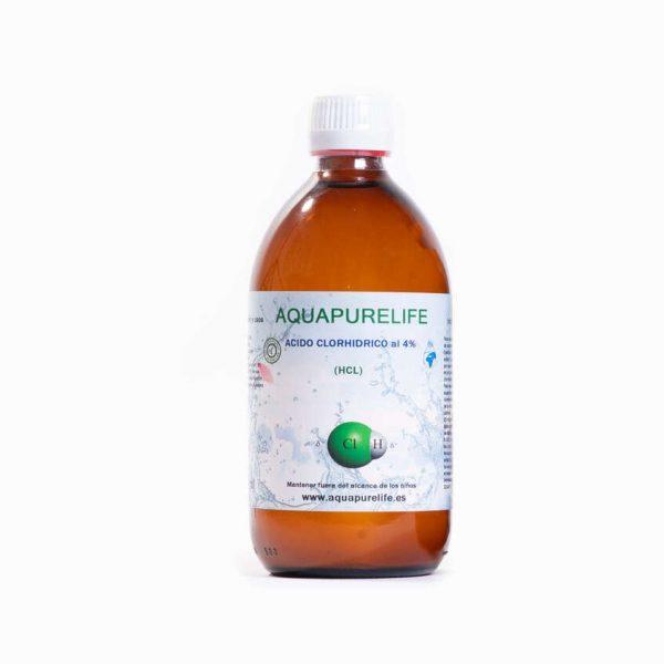 acido clorhidrico 500ml - Aquapurelife